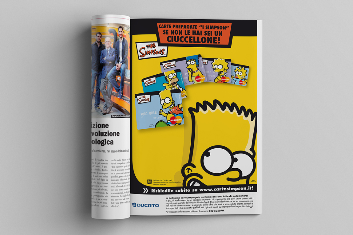 Carte Simpsons ADV